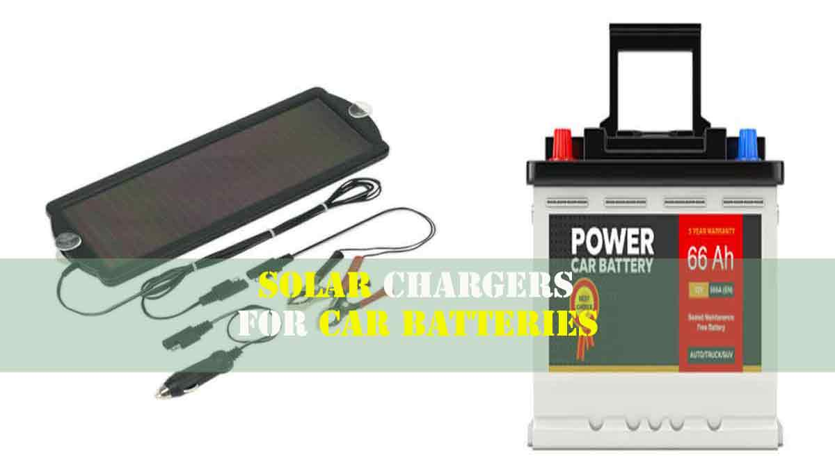 5 Best Solar Car Battery Chargers 2020 [Buying Guide]